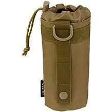 Bolsa Táctica Militar de Botella de Agua Sistema Molle al Aire Libre - Moreno
