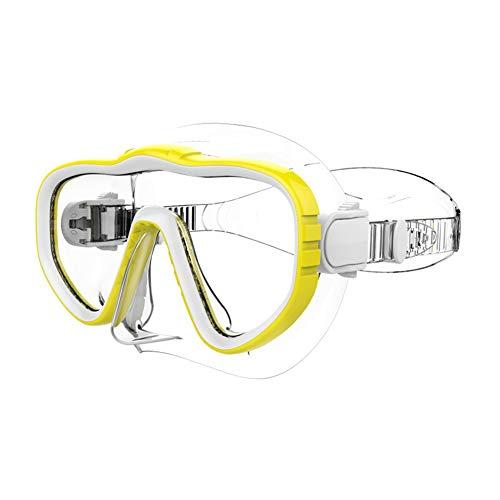 Syfinee Tauchermaske Tauchermaske mit Tauchermaske gelb