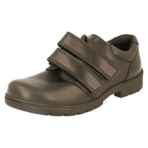 515e65b9586ad Start-rite garçon Rotation Infant Chaussures E - Noir - Cuir Noir