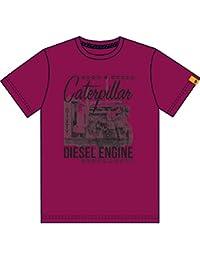 Caterpillar Diesel - T-shirt à manches courtes 100% coton - Homme