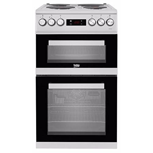 Beko KDV555AW 50 cm Double Oven Electric Cooker - White