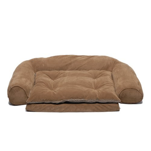 CPC Ortho Sleeper Large Comfort Couch with Removable Cushion, Chocolate by Cpc - Comfort Sleeper