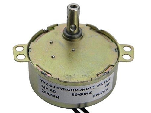 TYC-50 Motore sincrono AC 12V 20-24RPM CW/CCW 4W