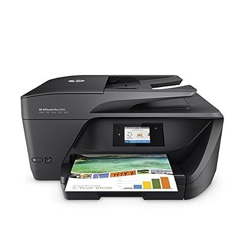 HP OfficeJet Pro 6960 Multifunktionsdrucker (Scanner, Kopierer, Fax. HP Instant Ink ready, WLAN 600x1200 dpi) schwarz