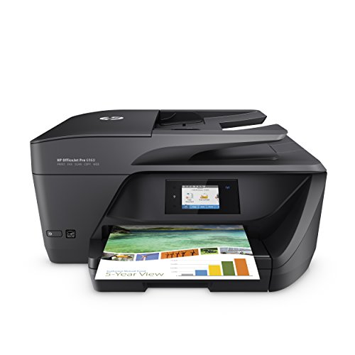 HP OfficeJet Pro 6960 Multifunktionsdrucker (Scanner, Kopierer, Fax. HP Instant Ink ready, WLAN 600x1200 dpi) schwarz