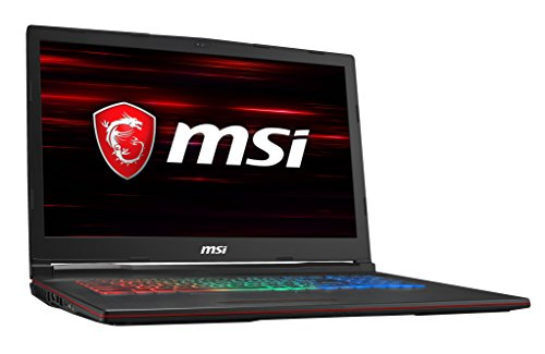 Preisvergleich Produktbild MSI GP73 8RE-041DE Leopard (43, 9 cm / 17, 3 Zoll) Gaming-Laptop (Intel Core i7-8750H,  8GB RAM,  256 GB SSD + 1 TB HDD,  Nvidia GeForce GTX 1060,  Windows 10 Home) schwarz
