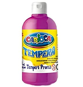 Carioca - Botella témpera 500 ml, Color Fucsia (KO027/28)