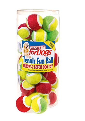 Classic-Pet-Products-Mini-Tennis-Fun-Ball-GreenYellow