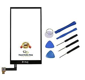 HTC ONE M9 Touchscreen Display Glas Digitizer Lens Scheibe Schwarz + Werkzeugset