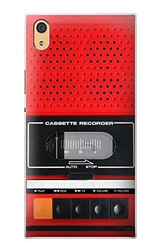 Innovedesire Red Cassette Recorder Graphic Hülle Schutzhülle Taschen für Sony Xperia XA1 Ultra