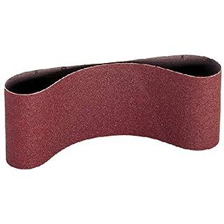 100mm x 915mm P600 aluminium oxide sanding belts. Per 3 belts.