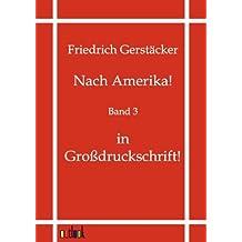 Nach Amerika!: Band 3 - in Großdruckschrift