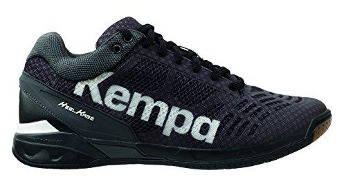 Kempa Attacco Maschile Sneakers Alte A Taglio Medio Nero (01)