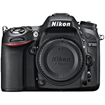 Nikon D7100 Body Fotocamera Digitale Reflex 24.1 Megapixel, Display 3.2 Pollici [Versione EU]
