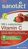 sanotact 100% natürliches Vitamin C Lutschtabletten Nahrungsergänzungsmittel, 30 Stück
