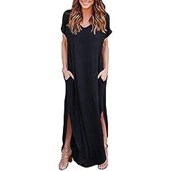 Vestido negro barato