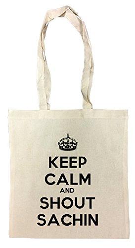 keep-calm-and-shout-sachin-bolsa-de-compras-de-algodon-reutilizable-cotton-shopping-bag-reusable