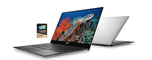 Dell XPS 13 13.3'' FHD (1920 x 1080) InfinityEdge display, Intel Core i7-8550U, 16 GB RAM, 512 GB SSD, Intel UHD Graphics 620, Windows 10 Pro, Silver