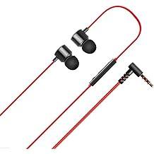 LG QuadBeat 3 LE630 LG G5 G4 G3 con canales de suscripción auriculares internos Rojo Negro