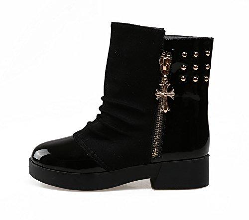 1TO9 - Stivali da Neve donna Black
