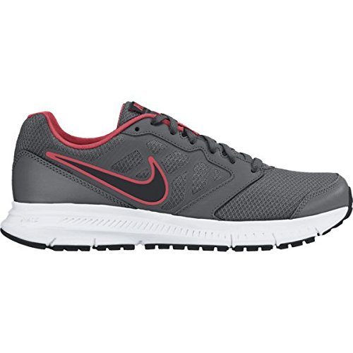 Nike Men's Downshifter 6 MSL Dark Grey, Black and White Running Shoes - 12 UK/India (47.5 EU)  available at amazon for Rs.2246