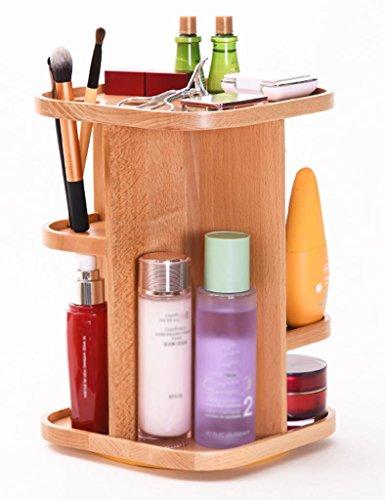 Étui cosmétique HWF Faire pivoter la Table de Dressage de cosmétiques Table de Toilette de Bureau Organisateur
