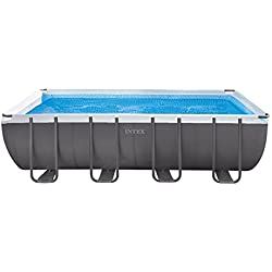 Intex 26352NP - Piscina desmontable Ultra Frame 549 x 274 x 132 cm, 17.203 litros