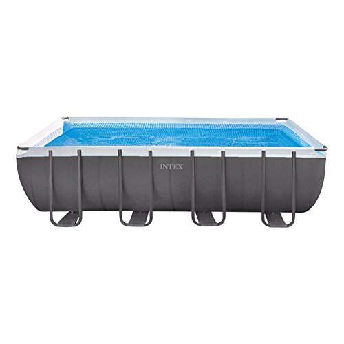 Intex Ultra Frame Piscina Desmontable, 17.203 Liters, Gris, 549x274x132