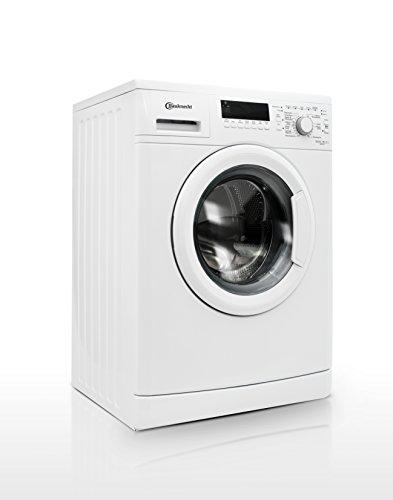 Bauknecht WAK 83 Waschmaschine FL / A+++ / 193 kWh/Jahr / 1400 UpM / 8 kg / 11000 L/Jahr / Mengenautomatik /Unterbaufähig / weiß - 9
