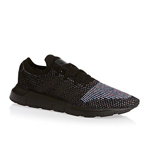 adidas Swift Run Primeknit, Chaussures de Fitness Mixte Adulte, Weiß Noir (noir essentiel / noir fonctionnel / noir essentiel)