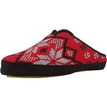 Zapatillas de Estar por casa de Mujer, Color Negro, Marca NORDIKAS, Modelo Zapatillas
