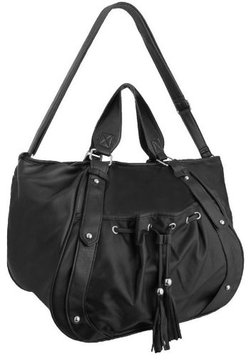 eyecatchbags-sanford-faux-leather-womens-shoulder-bag-handbag-black