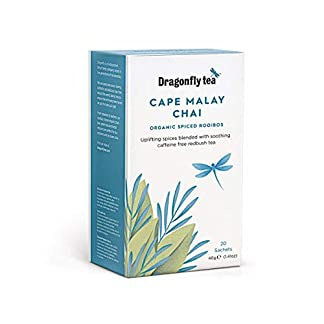 Dragonfly-Cape-Malaysischer-Rooibos-Tee-Chai-biologisch-20-Teebeutel-4-Packungen-insgesamt-80-Teebeutel