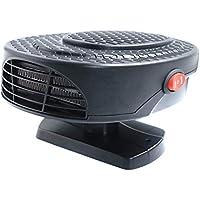 tragbar 711038 schwarz Heizung Auto 12 V Warm//Kalt Widerstand in Keramik 150 W Heizl/üfter Elektro Enteiser mit L/üfter f/ür Fenster TKSTAR Autoheizungen 180 /° Rotary