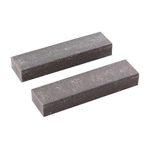 Silverline 837846 Wannengummi, Doppelpckg, schwarz, 2 Stück (Reinigungs-gummi)