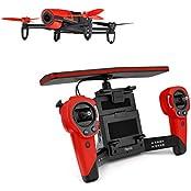 Parrot Bebop Drohne + Parrot Skycontroller rot