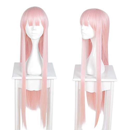 Anime PerückeTemperament Göttin, pinkperücke damen,wig,Rollenspiel