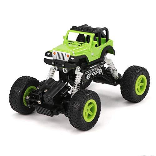 Funkgesteuerter Buggy-Raupen-Kletterer-Fernsteuerungs-LKW-nicht für den Straßenverkehr Fahrzeug, das Wagen klettert (Color : Green)
