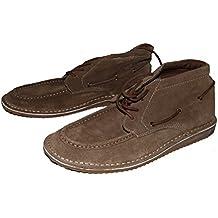 Springfield - Zapatillas de Estar por casa de Piel para Hombre marrón marrón