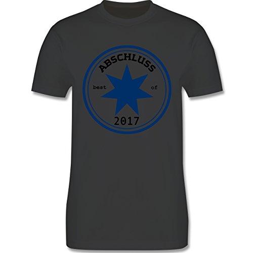 Abi & Abschluss - Abschluss 2017 - Herren Premium T-Shirt Dunkelgrau