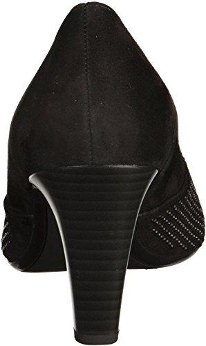 Gabor Fashion, Escarpins Femme Noir
