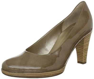 Gabor Shoes 5522094, Damen Klassische Pumps, Grau (taupe (sohle natur)), EU 35 (UK 2.5) (US 5)
