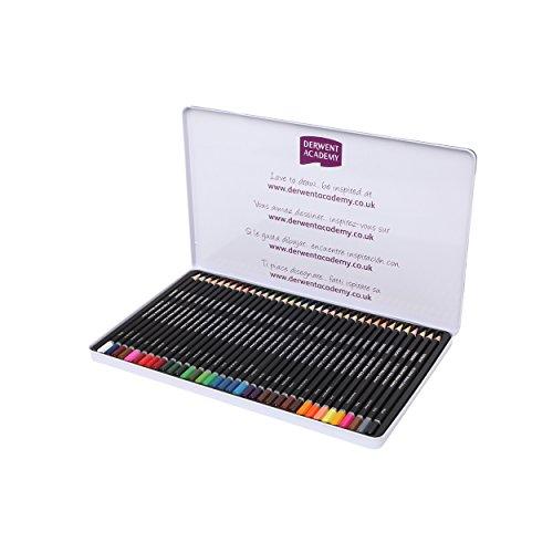 Derwent 2300226 - Lápices de colores (Paquete de 36)