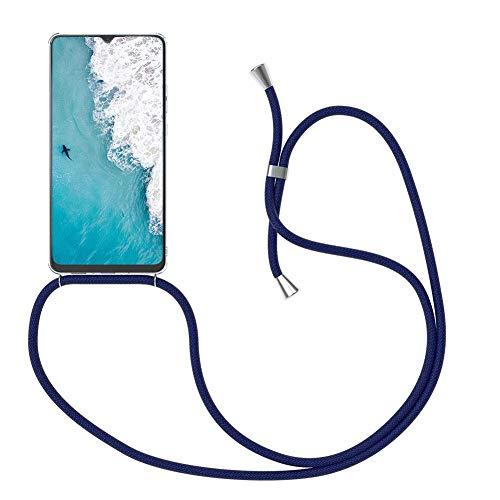 ZCXG Kompatibel Mit Handykette Handyhülle Huawei P30 Pro Hülle Silikon Transparent Stoßfest Ultra Slim Kratzfest Necklace Hülle mit Kordel zum Umhängen Schutzhülle Silikon TPU Bumper Case -