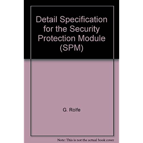 Detail Specification for the Security Protection Module