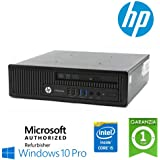 Utraslim PC Hp Elitedesk 800 G1 Usdt Core I5-4570S Ram 8Gb Hdd 320Gb Windows 10 Professional con Licenza Simpaticotech Mar Microsoft Authorized Refurbisher (Ricondizionato) )