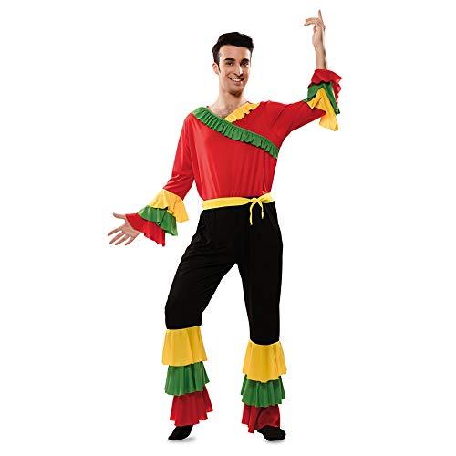 Lateinamerika Tanz Kostüm - Rumba Tänzer Hector Herrenkostüm M/L