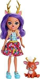 Enchantimals - Danessa Deer y Sprint, muñeca con mascota (Mattel FXM75)