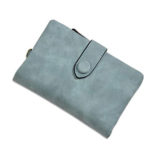 QLOH Brieftasche Clutch Wallet Student Change Purses Big Capacity Wristlet Women Wallets Scrub Card Holder Money Bag Pu Leather -