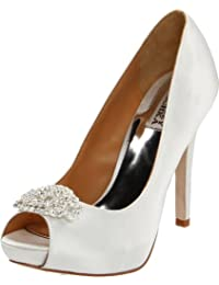Badgley Mischka Goodie Satin Talons